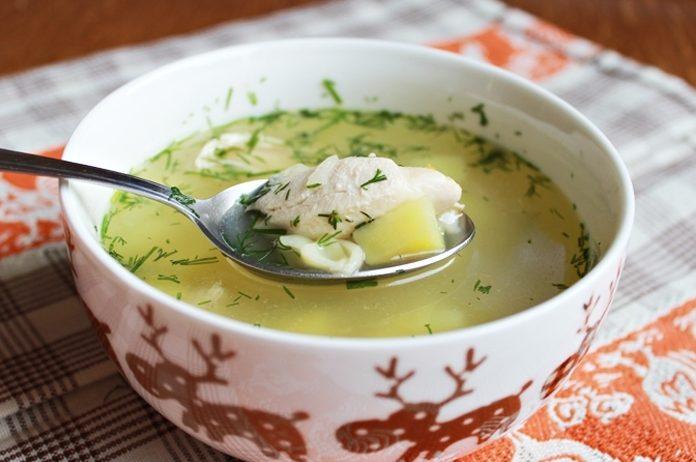 Куриный суп с пастой (лапшой)