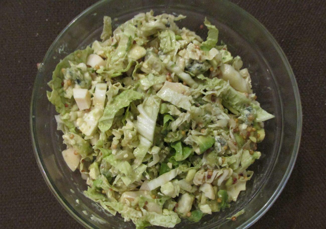 «Шик» – нежный салат с авокадо и сыром Дор-Блю