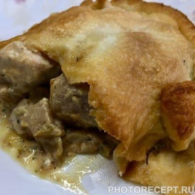 Нежное куриное филе с грушами в сливочном соусе - рецепт с фото