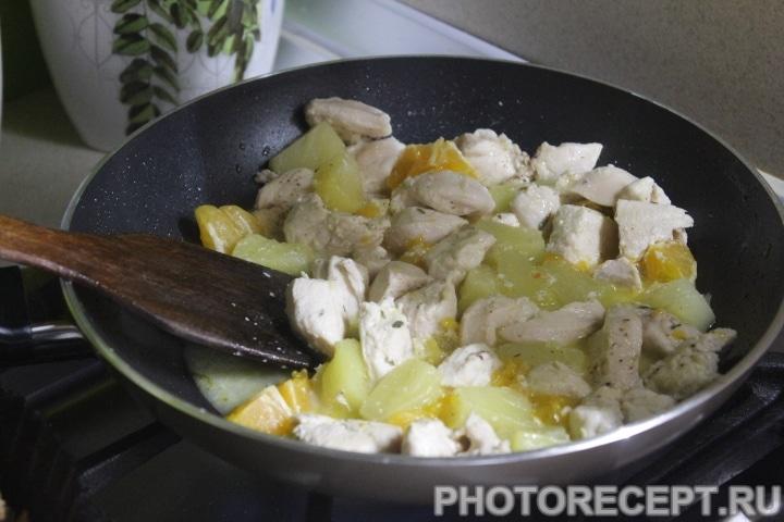 Фото рецепта - Экзотическое куриное рагу - шаг 5