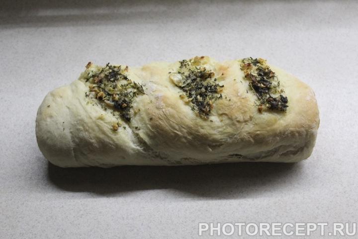 Фото рецепта - Чесночный багет - шаг 11