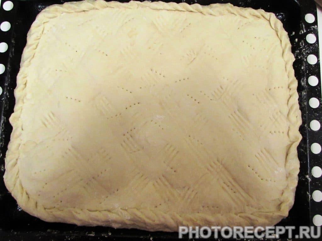 Фото рецепта - Ленивый курник из рубленого мяса и картофеля - шаг 14
