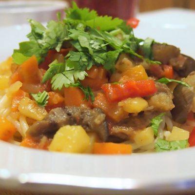 Лагман жареный по-узбекски - рецепт с фото