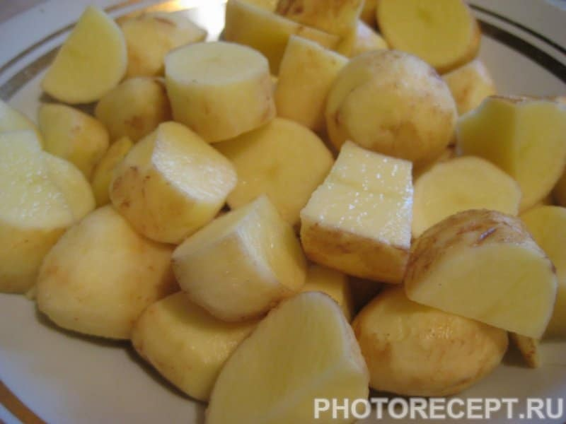 Фото рецепта - Запеченная речная форель с овощами - шаг 5
