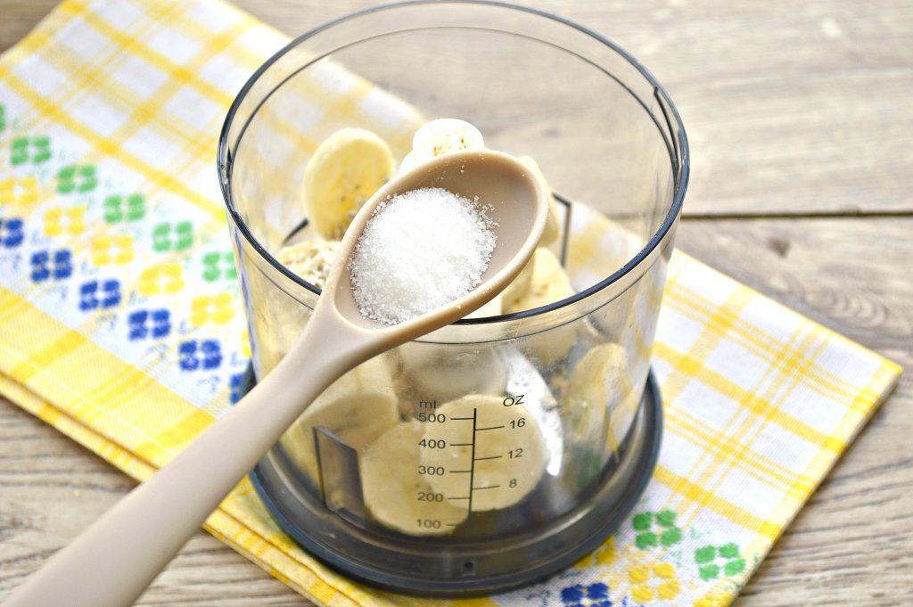 Фото рецепта - Смузи из овсянки и банана - шаг 3