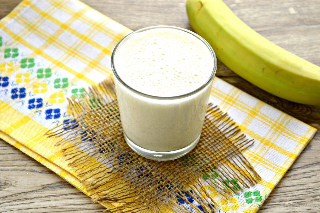 Фото рецепта - Смузи из овсянки и банана - шаг 6