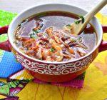 Аппетитный борщ на курином бульоне - рецепт с фото