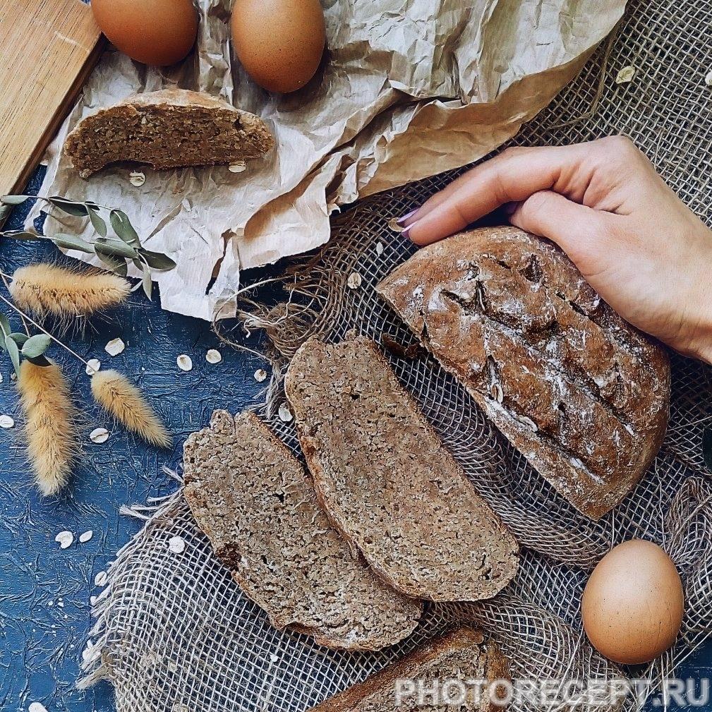 Фото рецепта - Ржаной хлеб на кефире - шаг 4
