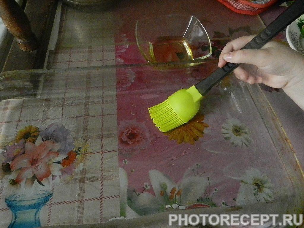 Фото рецепта - Куриное филе с гречкой, запеченное в духовке - шаг 2