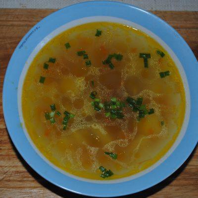 Куриный суп с картофелем и вермишелью - рецепт с фото