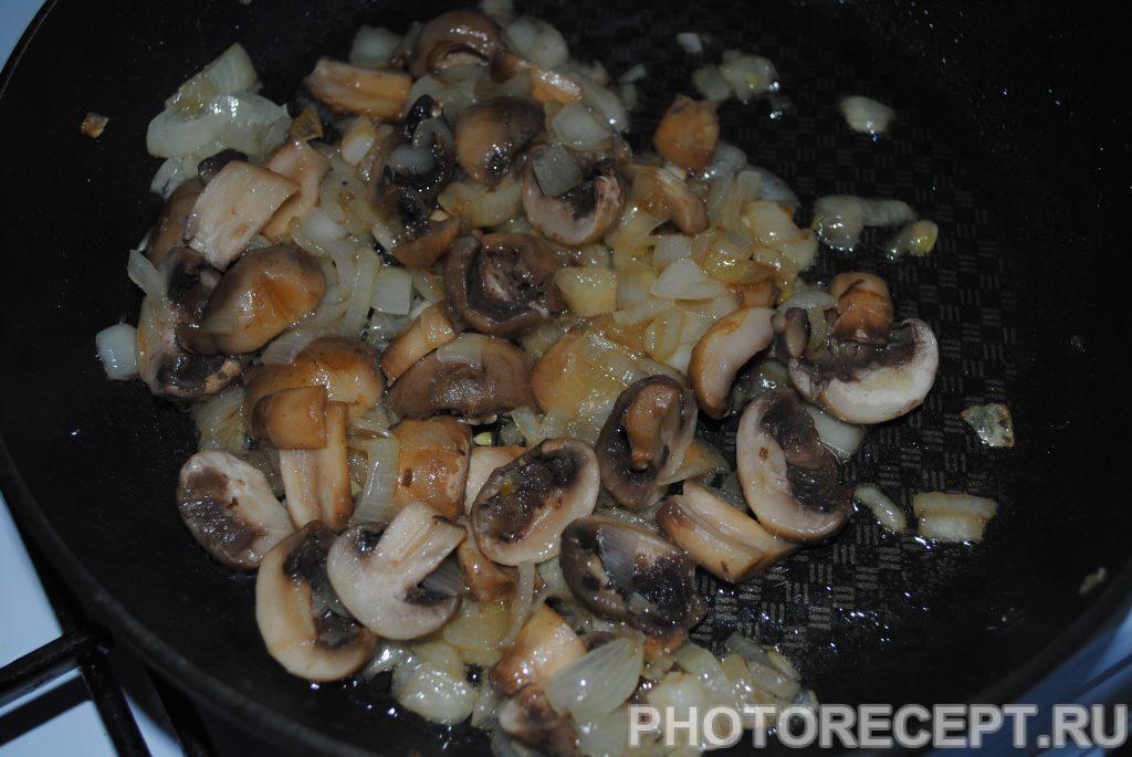 Фото рецепта - Картофельная запеканка с шампиньонами - шаг 2