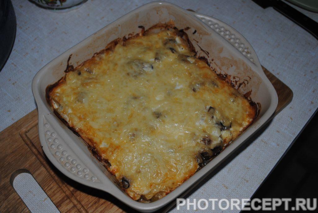 Фото рецепта - Картофельная запеканка с шампиньонами - шаг 8