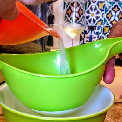 Фото рецепта - Спагетти с мидиями - шаг 3