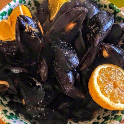 Мидии по-средиземноморски - рецепт с фото