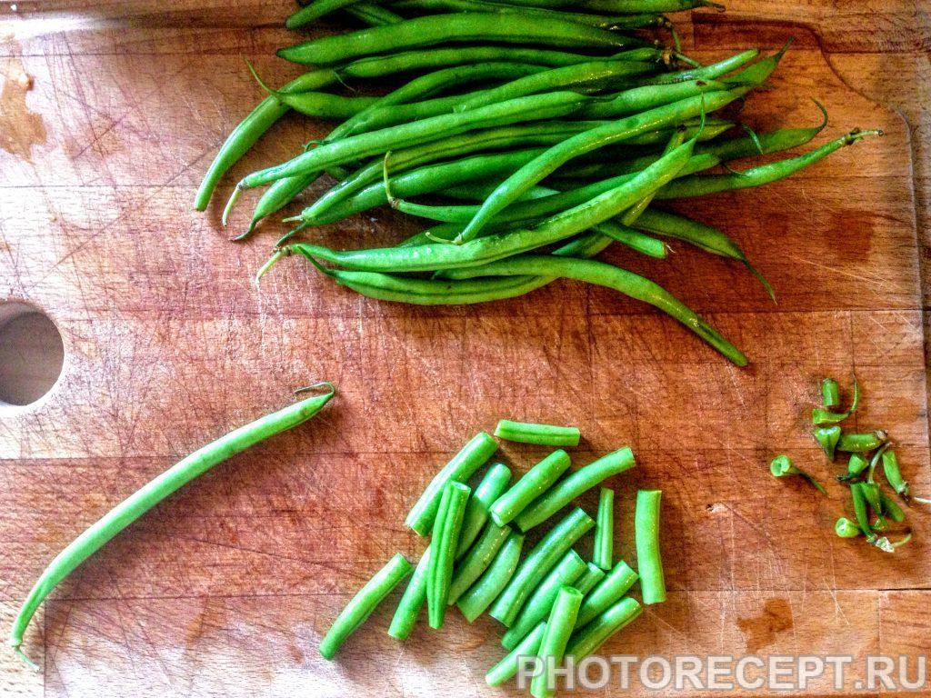 Фото рецепта - Салат из перловки с овощами и сыром - шаг 4