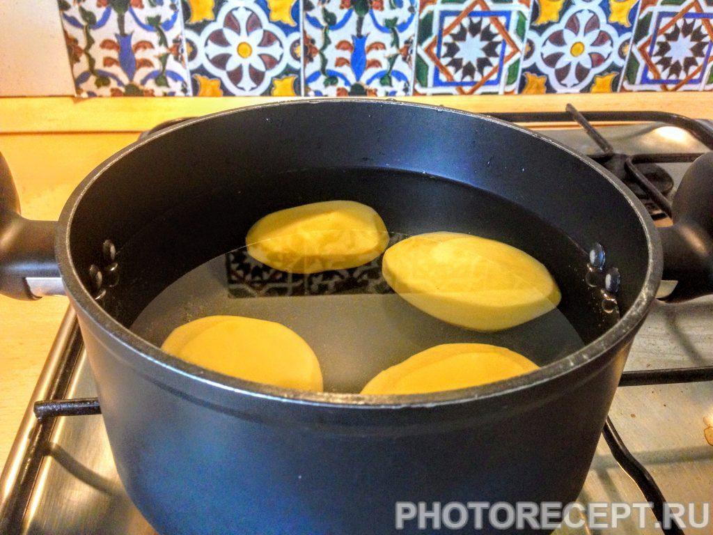 Фото рецепта - Грибной крем-суп с картофелем - шаг 1