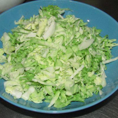Фото рецепта - Холодный борщ с молодой капустой - шаг 3
