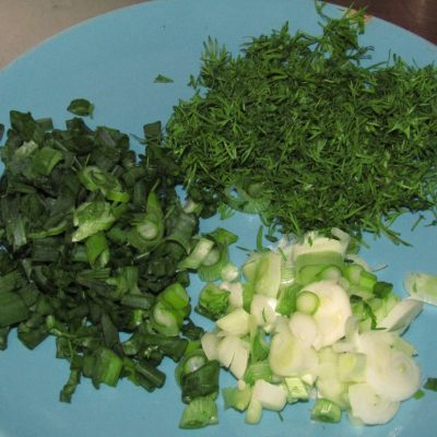 Фото рецепта - Холодный борщ с молодой капустой - шаг 4