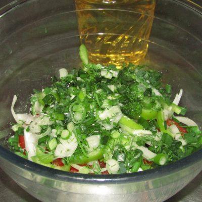 Фото рецепта - Первый веснний салат - шаг 3