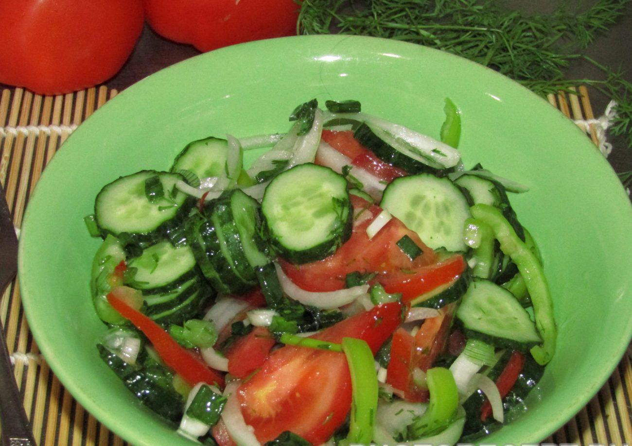 Первый веснний салат
