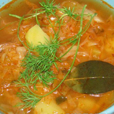 Холодный борщ с молодой капустой - рецепт с фото