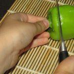 Фото рецепта - Фаршированный мини болгарский перец - шаг 4