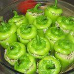 Фото рецепта - Фаршированный мини болгарский перец - шаг 5