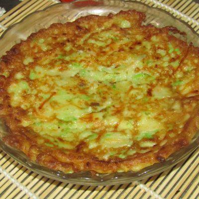 Фото рецепта - Кабачковый торт с томатами - шаг 3