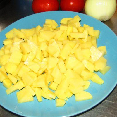 Фото рецепта - Холодный борщ с молодой капустой - шаг 1