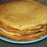 Фото рецепта - Сахарные блинчики с клубникой - шаг 4