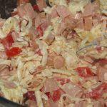 Фото рецепта - Жареные конвертики из лаваша - шаг 1