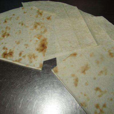 Фото рецепта - Жареные конвертики из лаваша - шаг 2