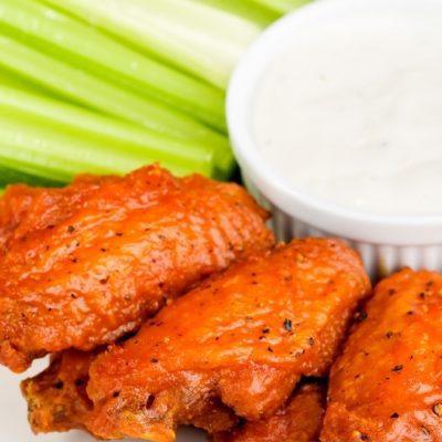 Куриные крылышки по-американски - рецепт с фото