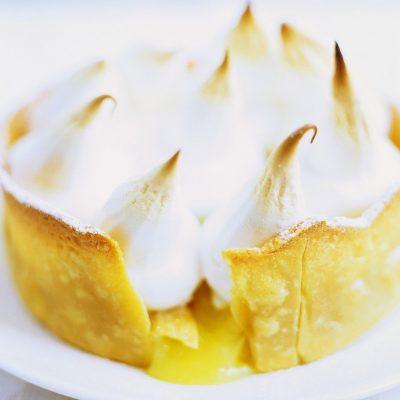 Грушевый тарт с безе - рецепт с фото