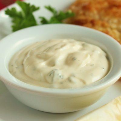 Классический соус «Тартар» к рыбе - рецепт с фото