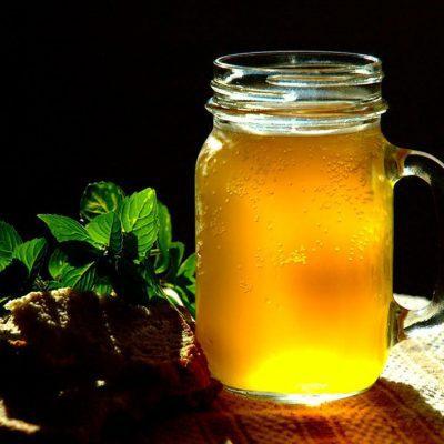 Квас с травами - рецепт с фото