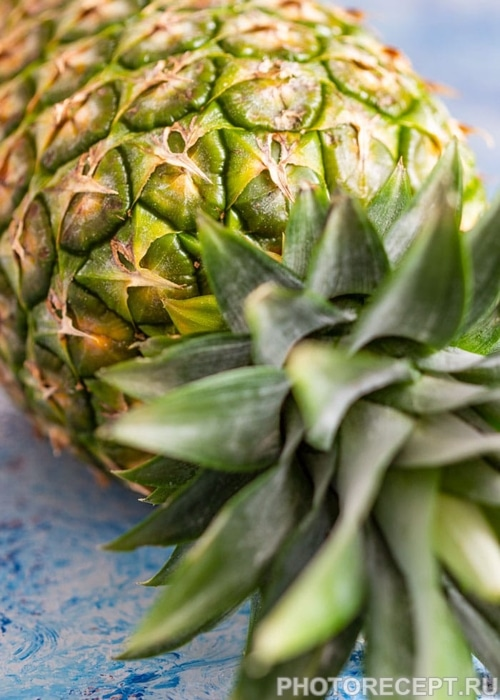 Фото рецепта - Напиток на основе ананаса и мяты - шаг 1