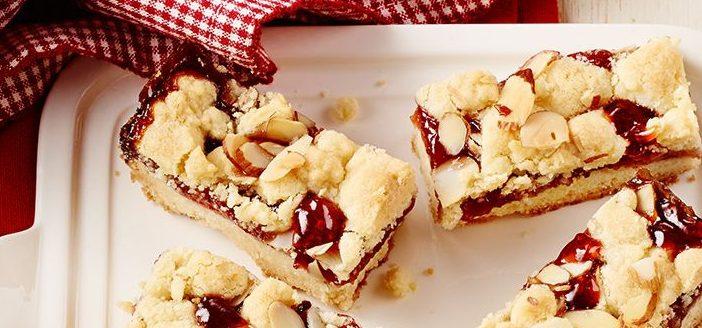 Песочное печенье с фруктовым конфитюром