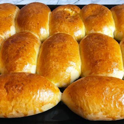 Пирожки с капустой на дрожжевом тесте - рецепт с фото