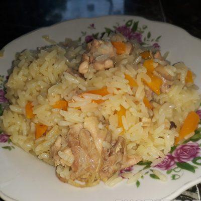Плов с курицей - рецепт с фото
