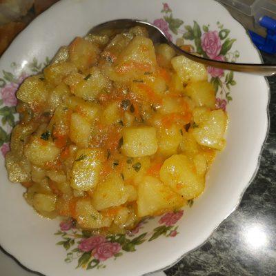 Картофельное жаркое - рецепт с фото