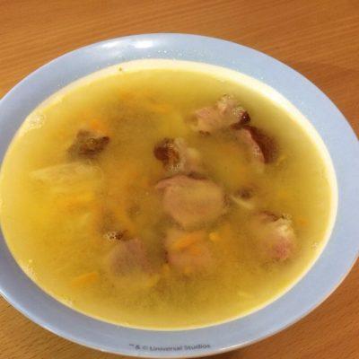 Гороховый суп с копченостями - рецепт с фото