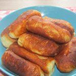 Фото рецепта - Пирожки с копченостями и картошкой - шаг 6