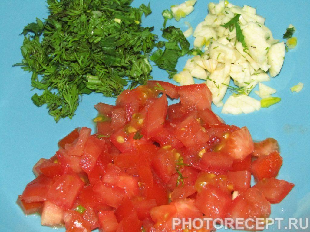 Фото рецепта - Пикантные быстрые бутерброды по – азербайджански - шаг 2