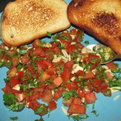 Фото рецепта - Пикантные быстрые бутерброды по – азербайджански - шаг 4