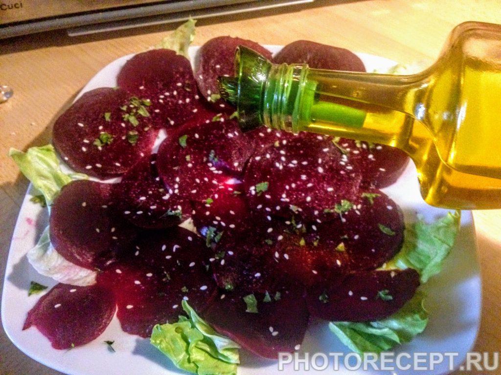 Фото рецепта - Карпаччо из красной свеклы - шаг 4