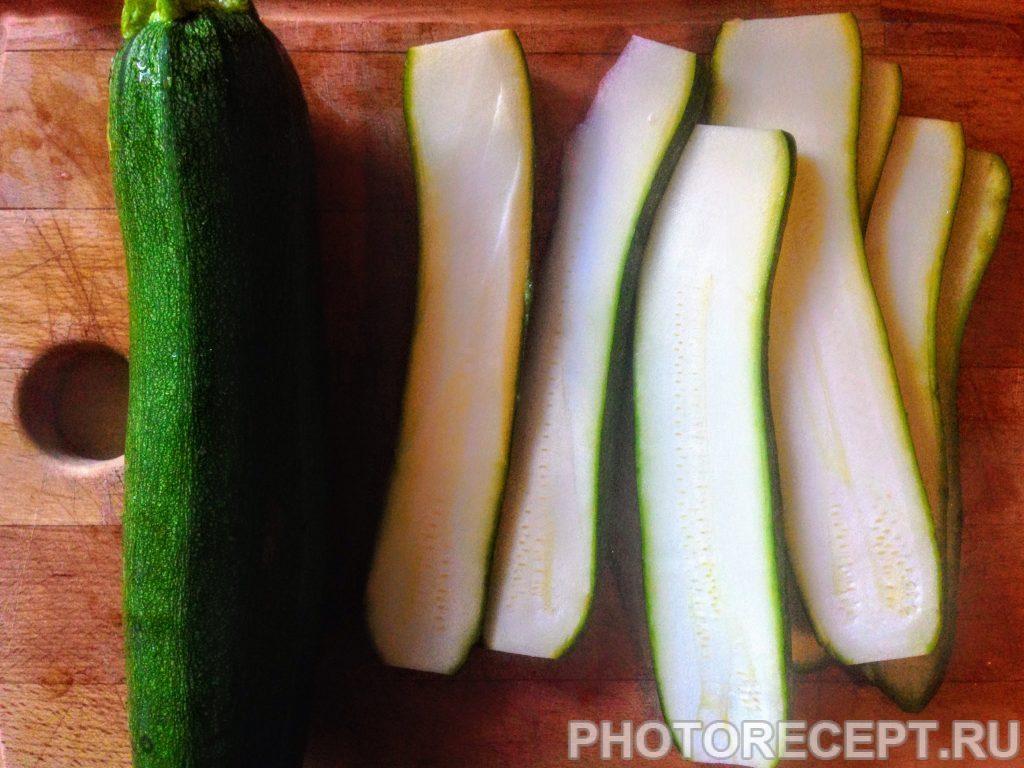 Фото рецепта - Цукини со спаржей и сладким перцем на гриле - шаг 2