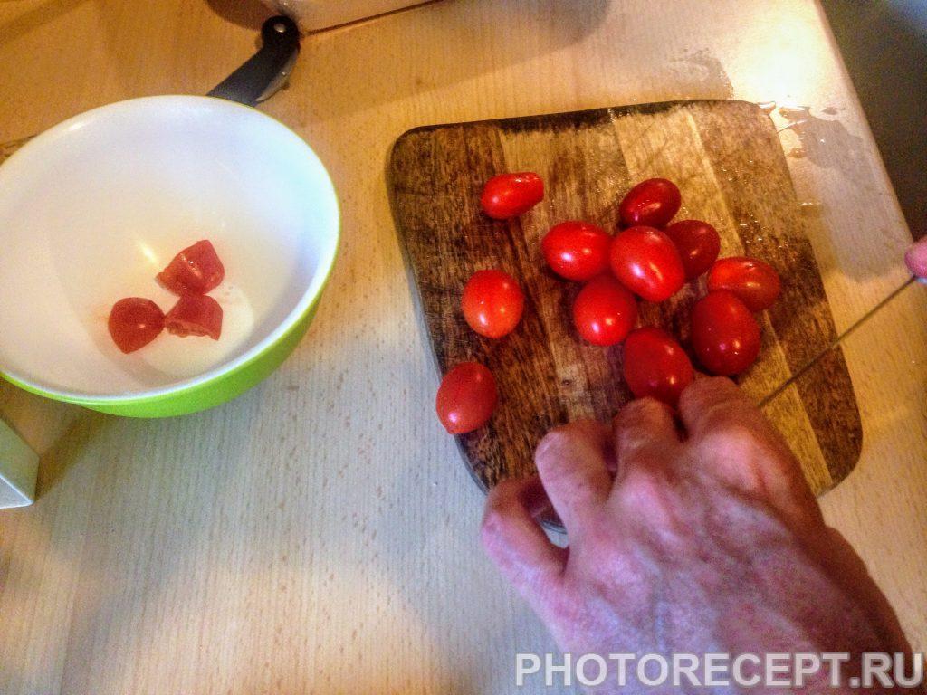 Фото рецепта - Паста с ракушками и томатами вонголе - шаг 1