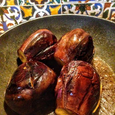 Фото рецепта - Фаршированные баклажаны с сыром по-сицилийски - шаг 6