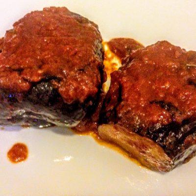 Фото рецепта - Фаршированные баклажаны с сыром по-сицилийски - шаг 9